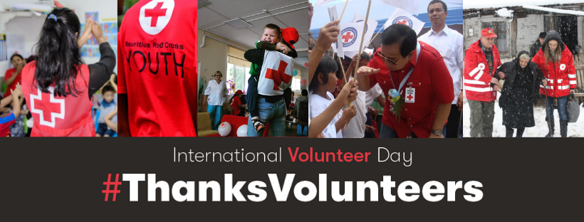 Happy #InternationalVolunteerDay! - A Video by Mauritius Red Cross